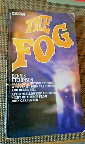 JOHN CARPENTER THE FOG Rare 1980 Tie-In Novel DENNIS ETCHISON UK Ed. Horror Book