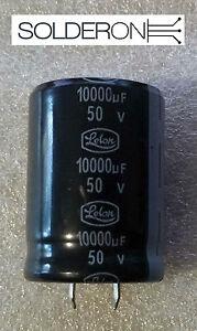 10000uF 50V Electrolytic Capacitor Snap In PCB