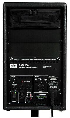 Pro K+H PAS 100 Portable Active PA Speaker + Sennheiser EW 100 G2 Wireless XLR