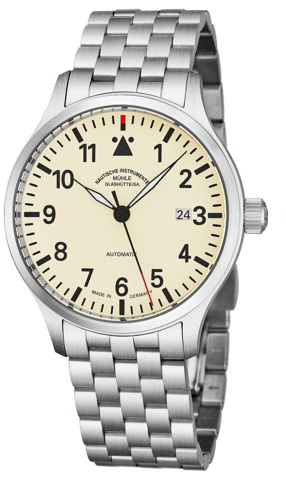 Muhle Glashutte Men's Terra Sport II Stainless Steel Automatic Watch M1-37-47-MB - watch picture 1