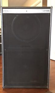 Traynor 2x15 with eminence speakers