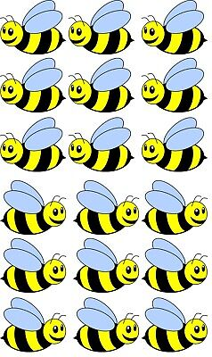 Bumble Bee Bedroom wall stickers Vinyl Graphics Baby Nursery Childrens Window