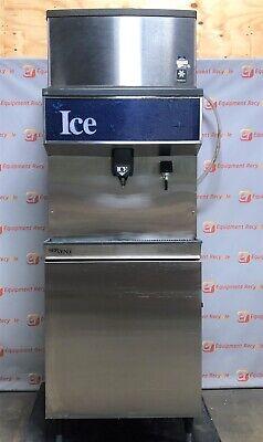 Manitowoc Qy0285w 285 Lb Indigo Ice Machine Water Dispenser Bin Servend M-200