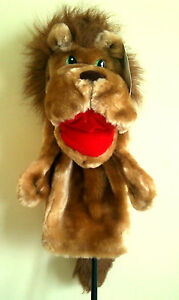 Novelty-Lion-Glove-Puppet-Golf-Driver-Club-Head-Cover