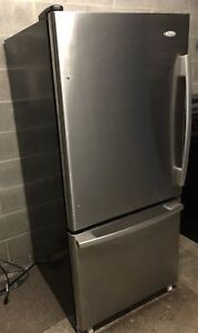 Perfect condition stainless fridge - delivery possible
