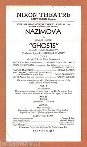 Alla-Nazimova-GHOSTS-Harry-Ellerbe-1936-Nixon-Theatre-Pittsburgh-Broadside