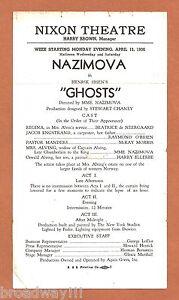 Alla-Nazimova-GHOSTS-Harry-Ellerbe-1936-Nixon-Theatre-Pittsburgh-Broadside
