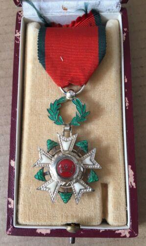 1936 Lebanon National Order of the Cedar Chest Badge Medal وسام الارز لبنان
