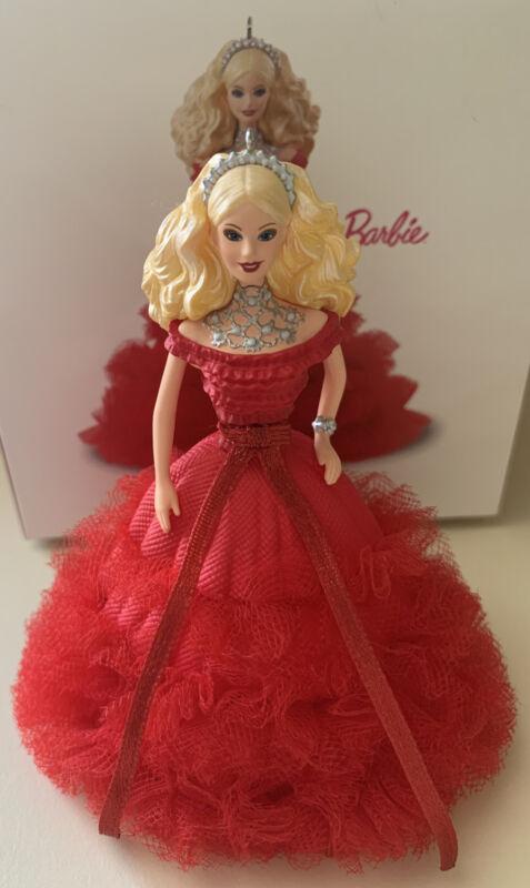 Hallmark Ornament, 2018 Holiday Barbie