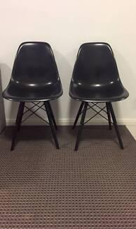 3 x Replica Eames Chairs