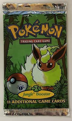 Pokemon Jungle 1st Edition Booster Pack - Flareon Art LIGHT