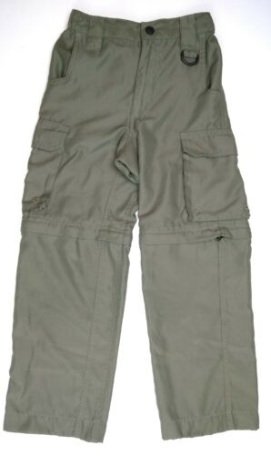 BSA Boy Scouts of America Boys Youth Small Convertible Zip Off Pants Shorts