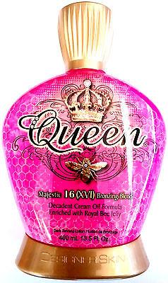 Queen Indoor Tanning Bed Lotion Bronzer By Designer Skin