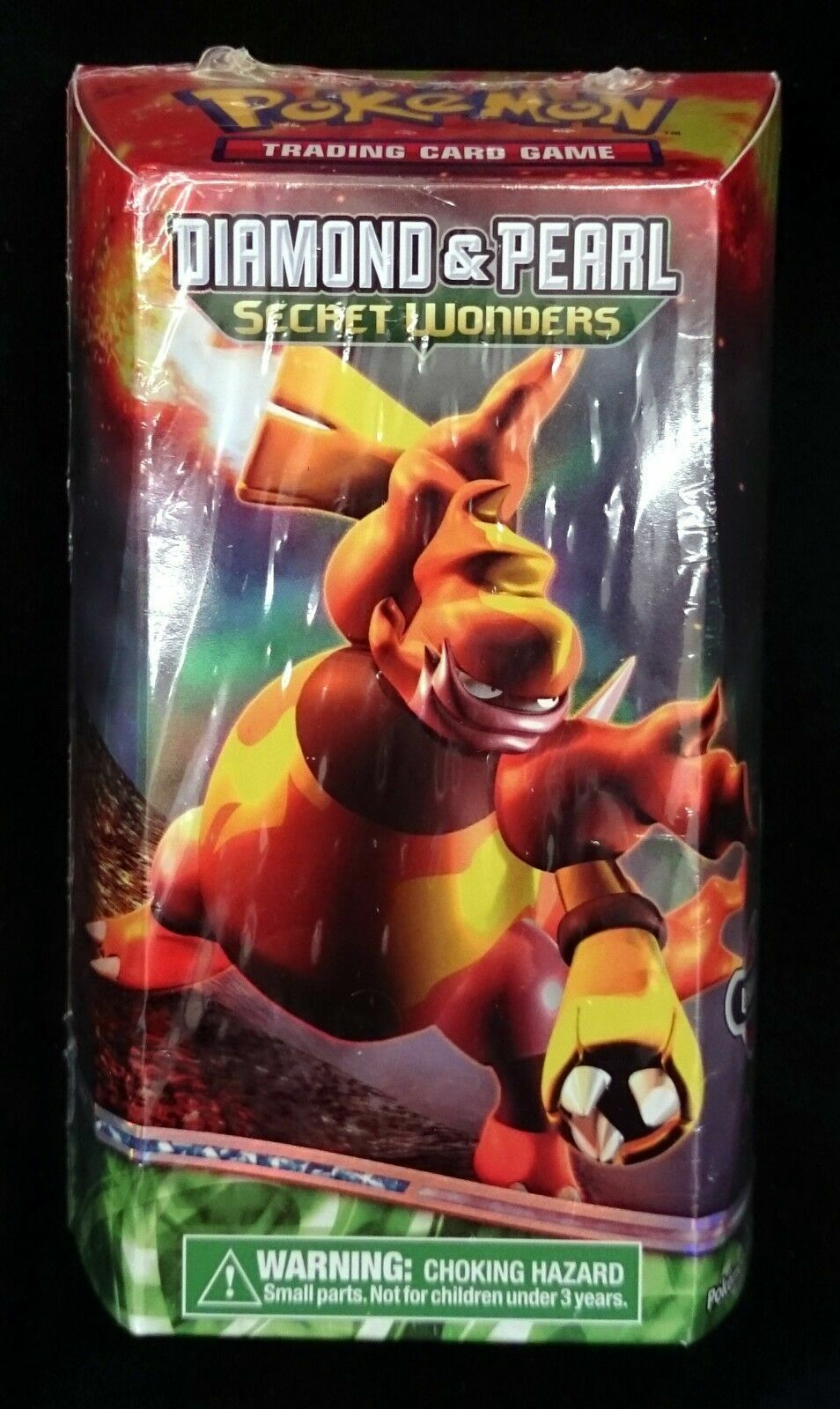 Pokemon TCG D/&P Secret Wonders Lavaflow Theme Deck Sealed