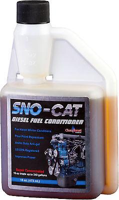 CleanBoost® Sno-Cat™ 16oz Anti Gel Fuel Treatment - Treats 240 Gallons of