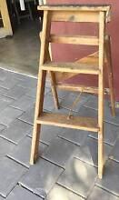 Vintage step ladder 2 steps Height 84 cm $40 Kewdale Belmont Area Preview