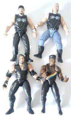 WWF WWE Jakks action figures lot of 4 Undertaker Farooq Road Dogg and Billy Gunn