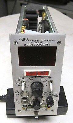 Princeton Applied Research Model 179 Coulometer Plug In University Surplus
