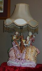 Capodimonte Porcelain Table Lamp London Ontario image 1