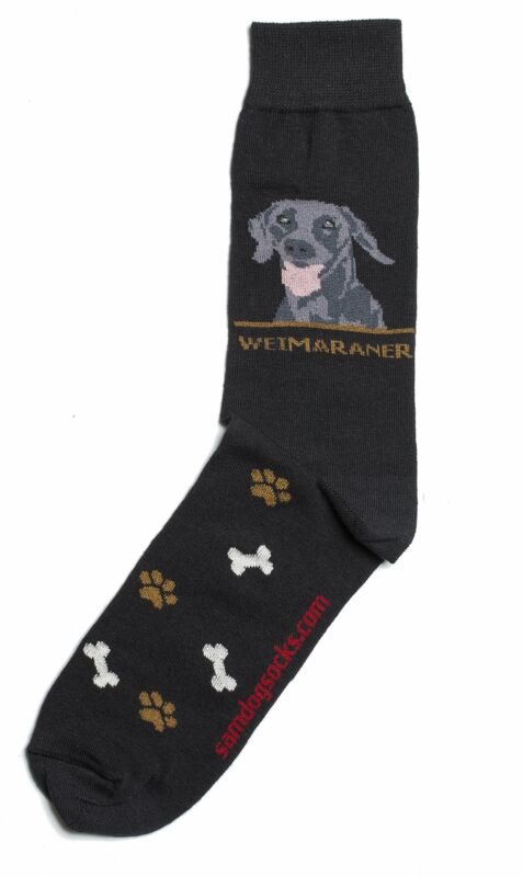 Weimaraner Dog Socks Mens