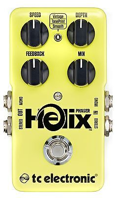 New Tc Electronic Helix Phaser Guitar Effects Pedal