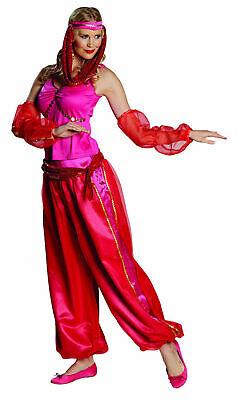 Jeanie orientalisches Bauchtanz Kostüm Damen Orient Gr.36-42 Karneval Fasching
