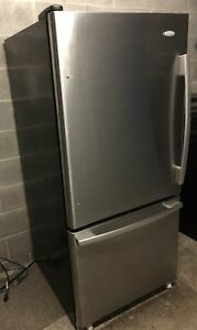 Stainless fridge in perfect condition- delivery possible