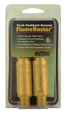 Victor Cutskill Torch Flashback Arrestor Fbt-2 Flamebuster 0656-0006 Oxyfuel