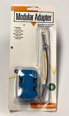 Harris Now Fluke Standard Or In-line 6-wire Modular Adapter 10220-100