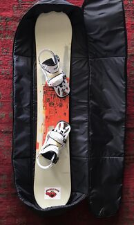 Snowboard & Bag & Bindings