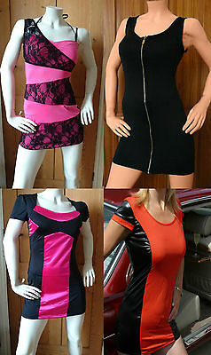 Sexy Clearance/Value Party/Clubbing Mini Dress Size 8/10 10/12 12/14 - Clearance Clubwear
