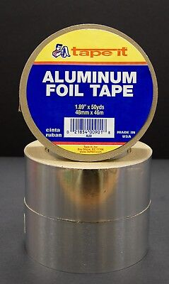 12 Rls - Aluminum Tape - 1.89 X 50 Yards - Hvac Duct Al50