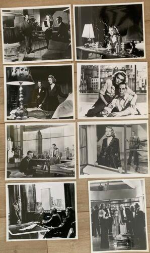 Set 8 Vtg Prints THE FOUNTAIN HEAD Publicity Photos: Patricia Neal - Gary Cooper