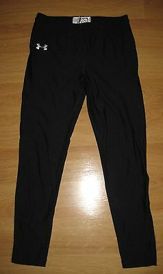 UNDER ARMOUR Black Leggings Pants Boys-Girls Youth Kids Size YLG-Large-L