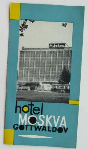 Travel Brochure For Hotel Alexandria,  Luhacovice Spa Chez Republic ++