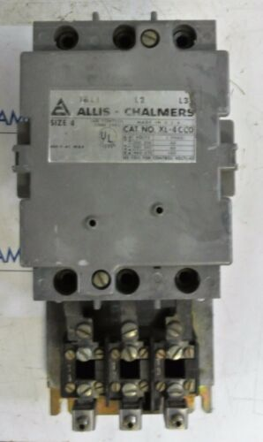 Allis- Chalmers XL-4CC0 Size 4 Starter 115v coil 100HP 460 volt  Used