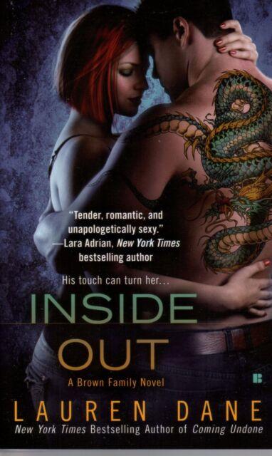 Lauren Dane  Inside Out   A Brown Family Novel  Romance   Pbk NEW