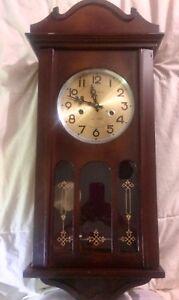 Grandfather wall clock