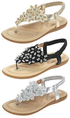 Sommer Gold Schuhe (Damen Sandalen Sandaletten Zehentrenner Sommerschuhe JC66 schwarz silber gold)