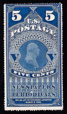 US PR5 Newspaper Periodicals F-VF SCV $225 (-002)