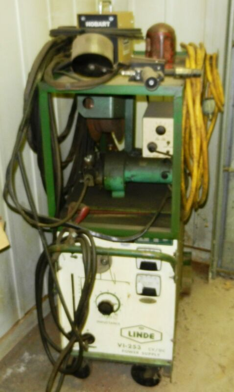 LINDE Wire Welder Mig Feeder and Aluminum Spool Gun VI 253 Phase 3 WVS