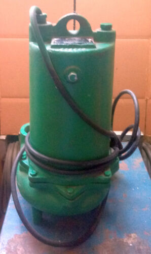 """1 NEW MYERS MW200-43 SINGLE SEAL 2"""" SOLID SEWAGE PUMP ***Make Offer***"""
