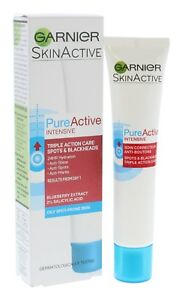 Garnier Pure Active Intensive Care Spots & Blackhead Anti Shine Moisturiser