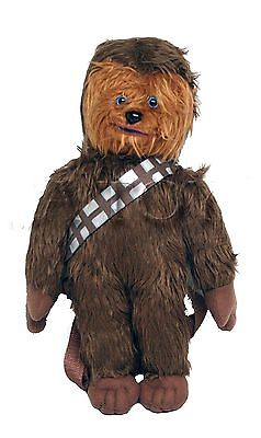 Disney Star Wars 16  Inches Chewbacca Plush Backpack New Licensed Product