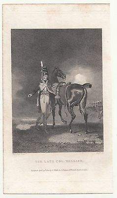 Stahlstich The Late Col Mellish 1820 Wheble & Puttman London Great Britian print