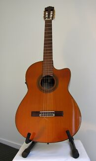 Classical Yamaha guitar with microphone - beautiful instrument! Peregian Beach Noosa Area Preview