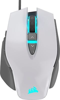 CORSAIR - M65 RGB Elite Wired Optical Gaming Mouse - White