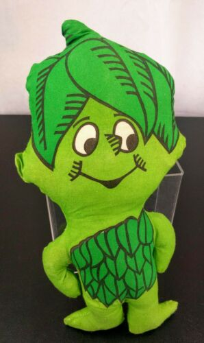 Jolly Green Giant Little Sprout Plush Pillow Toy Cloth Doll Human Bean Prop