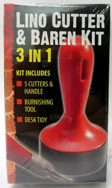 Essdee Lino Cutter & Baren Kit, 3 in 1