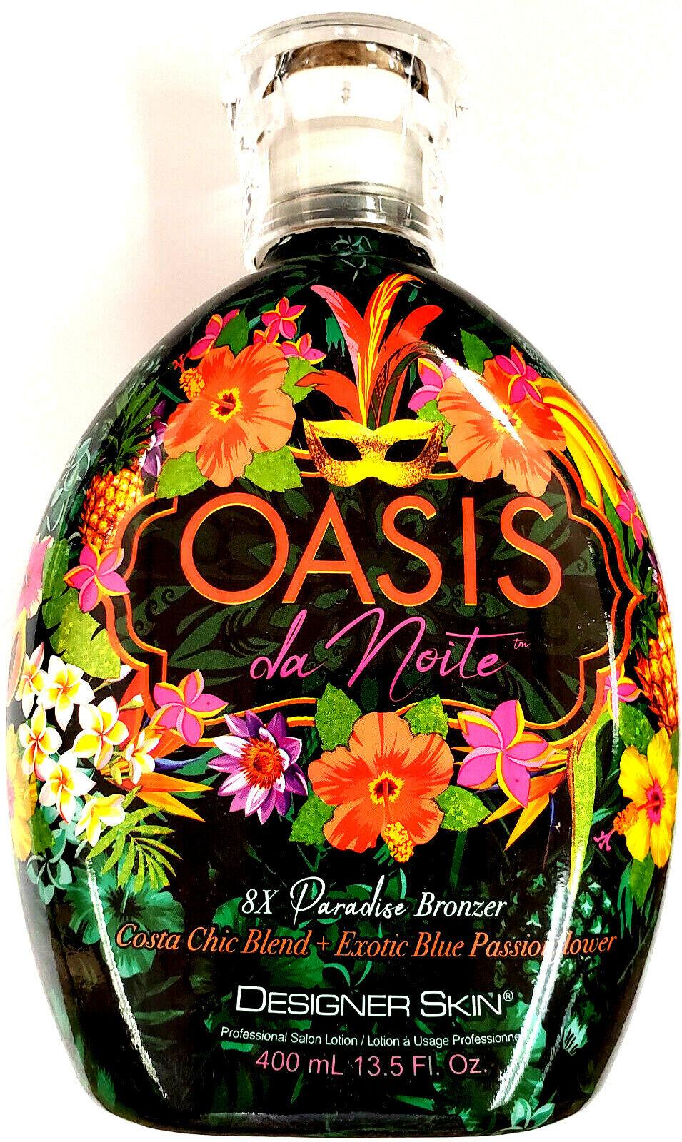 oasis da noite 8x paradise bronzer tanning